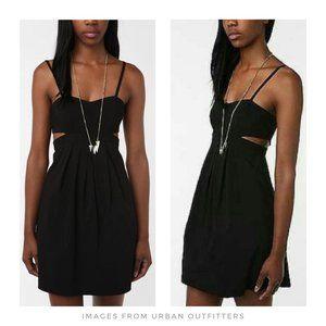Sparkle & Fade ▪ Black Cutout Dress, LBD